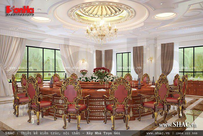 Phòng ăn vip của nhà hàng sh bck 0035