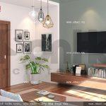 Phòng khách nhỏ sh nod 0133