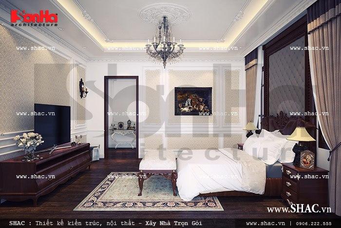 Phòng ngủ đơn giản nhẹ nhàng sh btp 0068