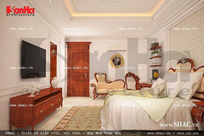 Phương án thiết kế nội thất biệt thự đẹp mắt