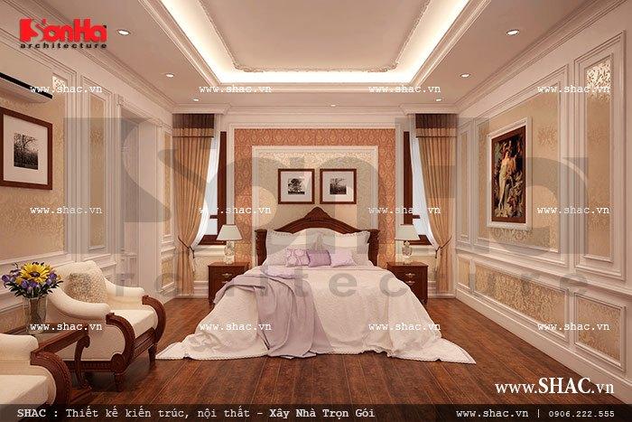 Nội thất nhà biệt thự đẹp phong cách cổ điển 8