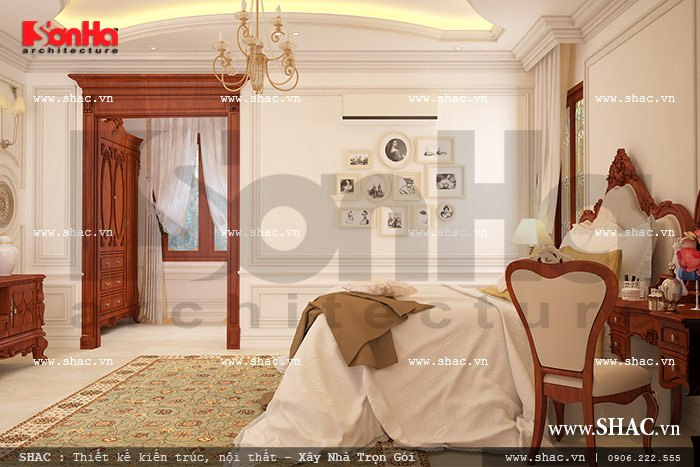 Phòng ngủ lãng mạn sh btp 0069