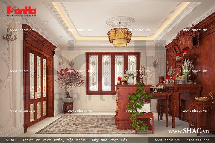 Phòng thờ phong cách cổ điển sh btp 0069