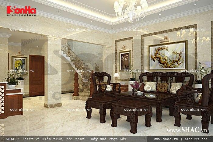 Phòng tiếp khách tại sảnh khách sạn sh ks 0024