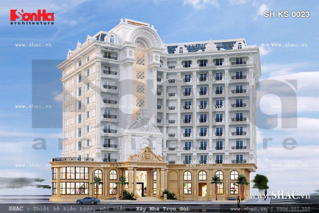 Thiết kế khách sạn 5 sao sang trọng sh ks 0023