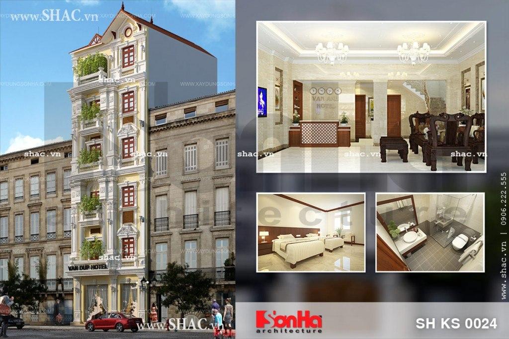 Khách sạn cổ điển diện tích 75m2 sh ks 0024