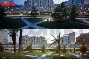 Thiết kế khuôn viên khách sạn tại Thanh Hóa