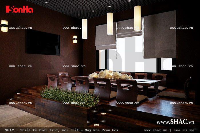 Thiết kế phòng ăn nhật đẹp sh bck 0035