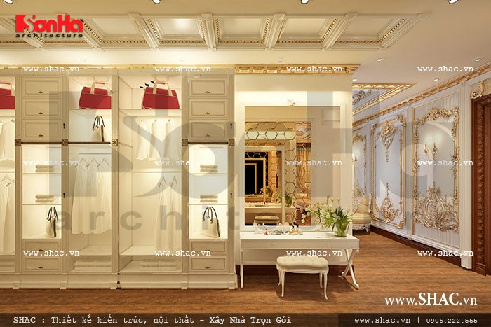 Tủ đồ trong phòng ngủ sh btld 0021