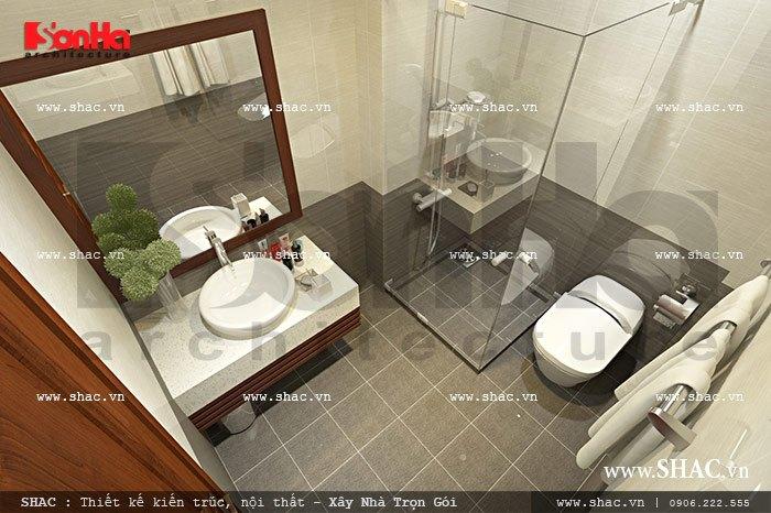 wc cho phòng ngủ đôi của khách sạn sh ks 0024