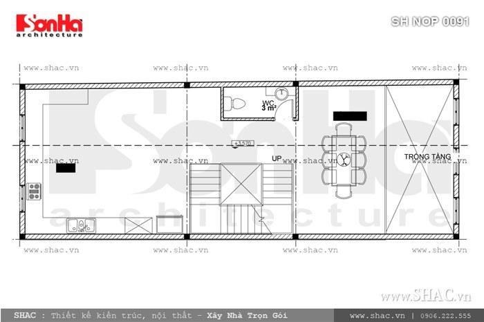 Nhà phố mặt tiền 6m kiến trúc Pháp cổ điển – SH NOP 0091 5