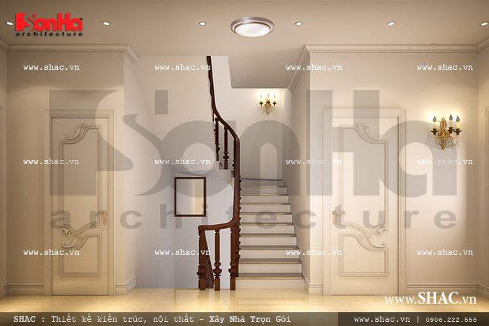 Cầu thang tầng 2 sh nop 0090