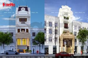Hai mẫu nhà phố cổ điển điển hình