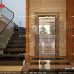 Khu vực cầu thang máy và thang bộ sh nod 0137