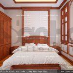 Phòng ngủ đơn giản của biệt thự sh btld 0022