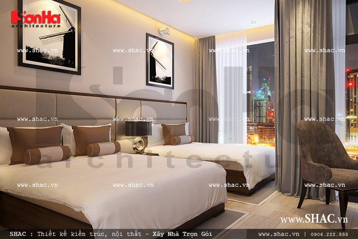 Mẫu phòng ngủ khách sạn đẹp sh nod 0137