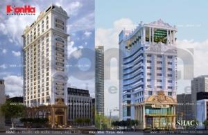 Mẫu khách sạn đẹp ks 0014 và Ks 0021