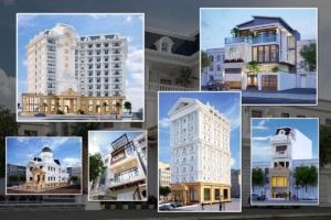 Những mẫu khách sạn và nhà đẹp