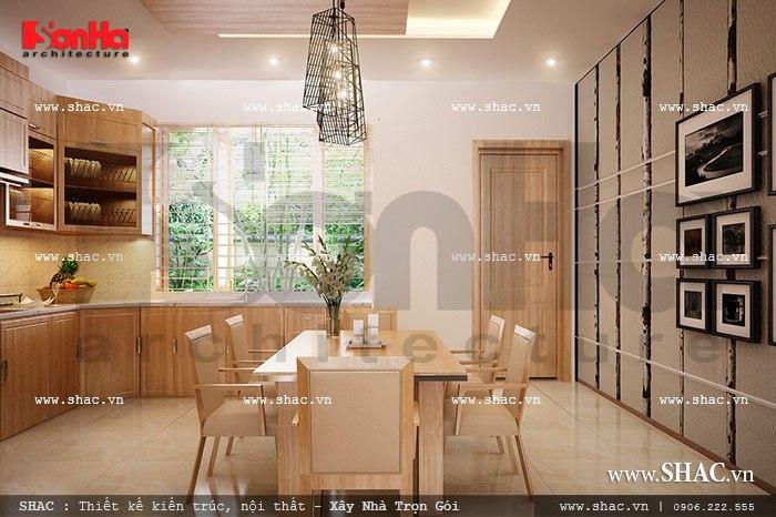 Phòng ăn giản dị