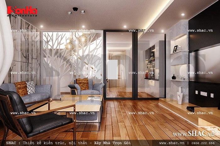 Phòng khách hiện đại sh nod 0136