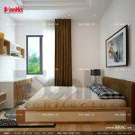 Phòng ngủ của căn hộ tầng 3 sh nod 0137
