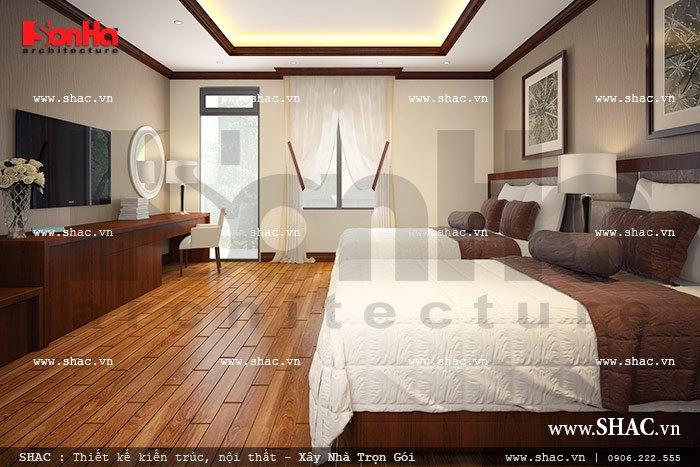 Phòng ngủ hotel dành cho khách sh nod 0137