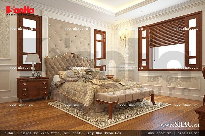 Nội thất nhà biệt thự đẹp phong cách cổ điển 9