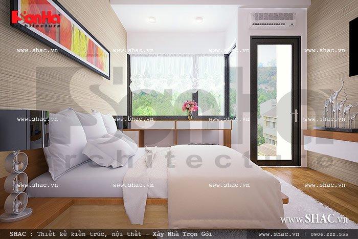 Phòng ngủ nhà ống