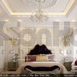 Phòng ngủ phong cách pháp sh nop 0091