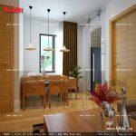 Tầng 3 góc bàn ăn căn hộ cho thuê sh nod 0137