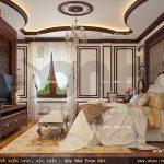 Thiết kế phòng ngủ đẹp cho chủ nhà sh btp 0076