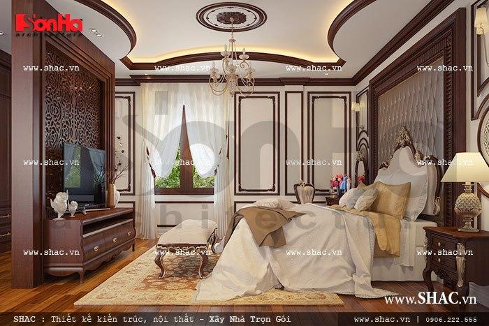 Thiết kế biệt thự hai tầng kiểu Pháp đẹp – SH BTP 0076 7
