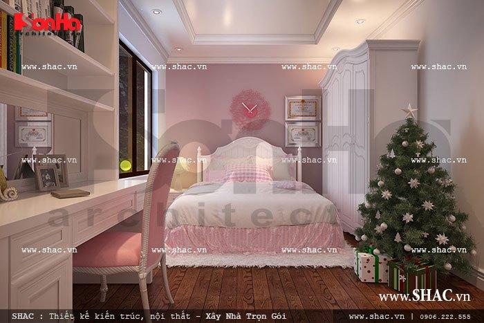 Thiết kế phòng ngủ nữ tính sh nop 0090