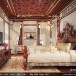 Thiết kế phòng ngủ phong cách cổ điển sh btld 0022