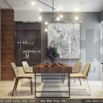 Bộ bàn ăn đơn giản và hiện đại sh nod 0138