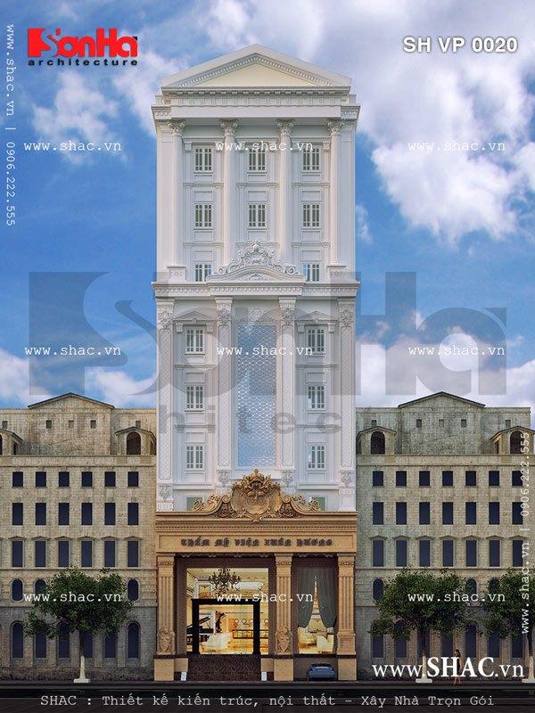 Mặt tiền trung tâm thẩm mỹ viện sh vp 0020