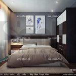 Phòng ngủ hiện đại nhỏ gọn nod 0138