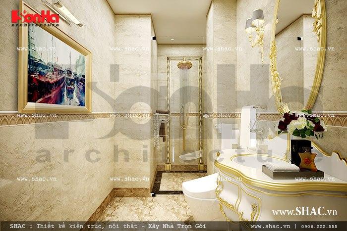Phòng tắm và vệ sinh sang trọng