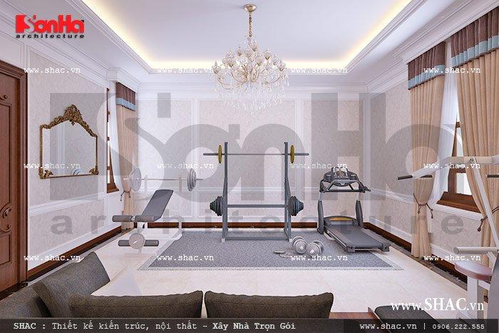 Phòng tập gym ở nhà sh nop 0092