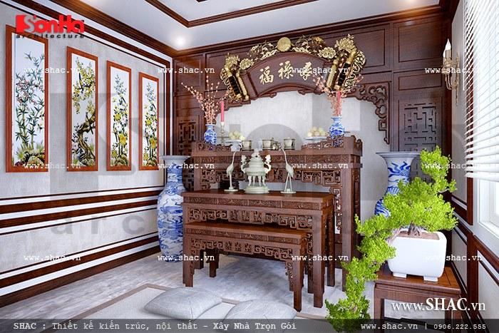 Phòng thờ truyền thống sh btd 0038