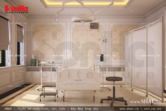 Phòng tiểu phẫu của trung tâm
