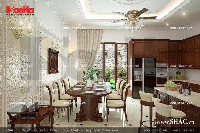 Thiết kế bếp ăn đẹp sh nop 0092