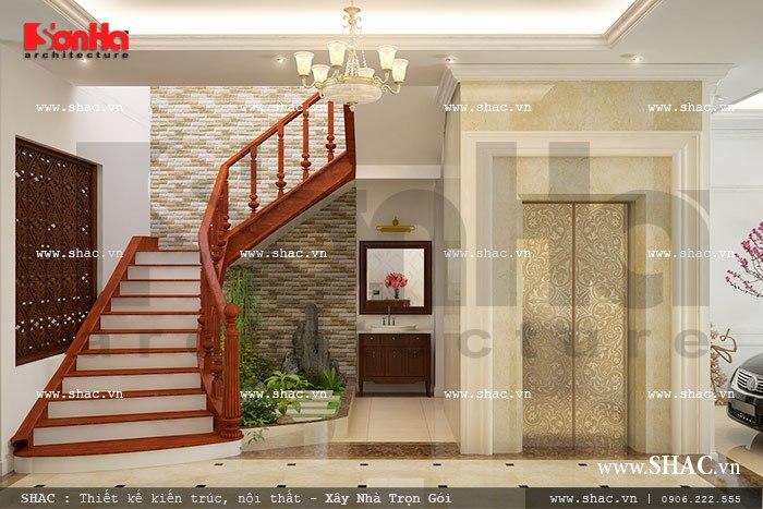 Thiết kế khu cầu thang đẹp sh nop 0092
