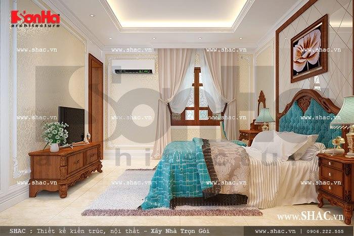 Thiết kế phòng ngủ pháp cá tính sh nop 0092