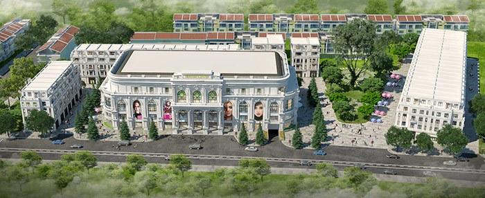 Tổng thể khu trung tâm thương mại Vincom Shophouse Hải Phòng sh sr 0016