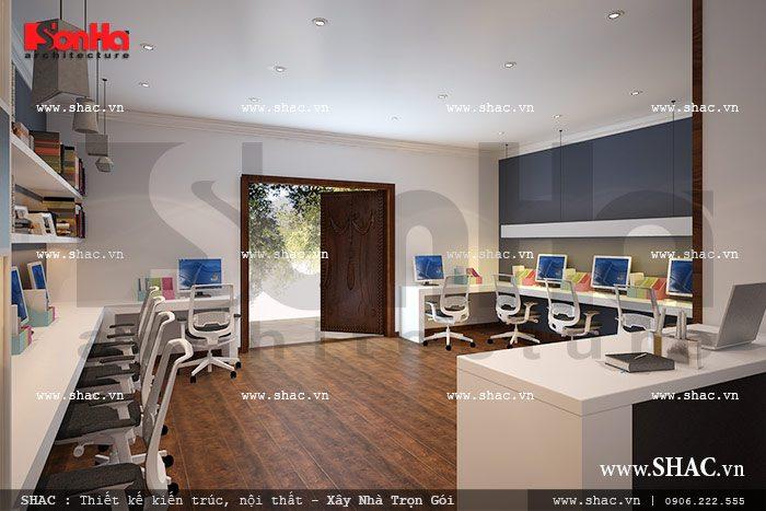 Văn phòng làm việc cho nhân viên sh btp 0077