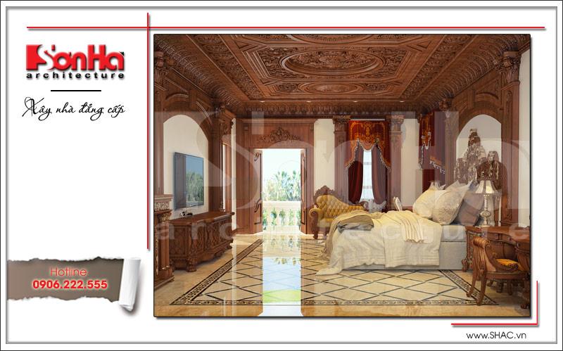 Biệt thự kiểu Pháp cổ điển có mặt tiền 8m tại Thái Bình – SH BTP 0080 9