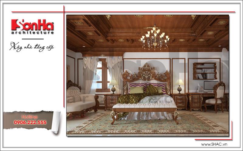 Biệt thự kiểu Pháp cổ điển có mặt tiền 8m tại Thái Bình – SH BTP 0080 11