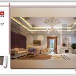 Thiết kế nội thất phòng hát biệt thự 6 tầng tại Thái Bình sh btp 0080