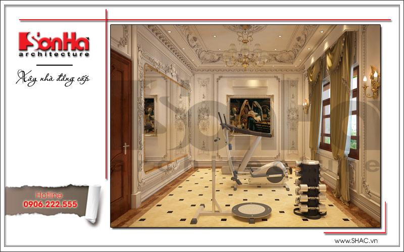 Biệt thự kiểu Pháp cổ điển có mặt tiền 8m tại Thái Bình – SH BTP 0080 14